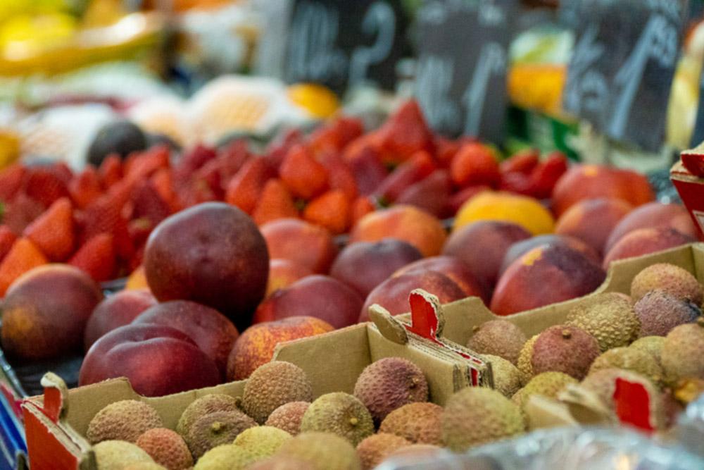 Fotogalerie - Naschmarkt in Wien auf art-traveller.com