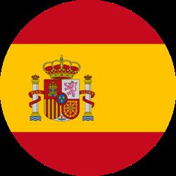 Destination Spanien Flagge